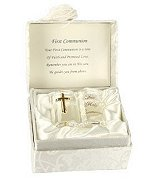 First Holy Communion Glass Bible